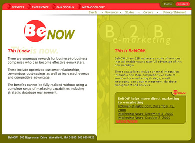 Benow Home Page